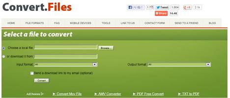 フリーソフト不要。ウェブ上でWMVをMOVに変換できるサイト(他あらゆる形式にも対応)